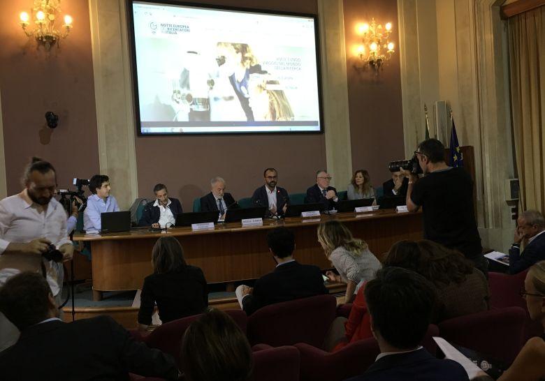 C.S. presentazione Notte Europea Ricercatori 2018 al MIUR