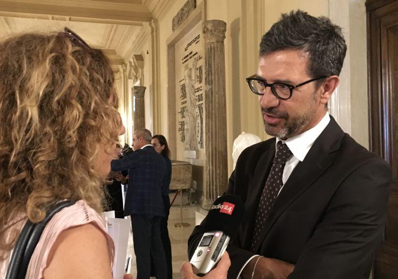 Roberto Mastrosanti sindaco di Frascati e presidente di Frascati Scienza